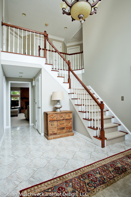 High ceiling entryway   traditional   entry   other   by susan ...