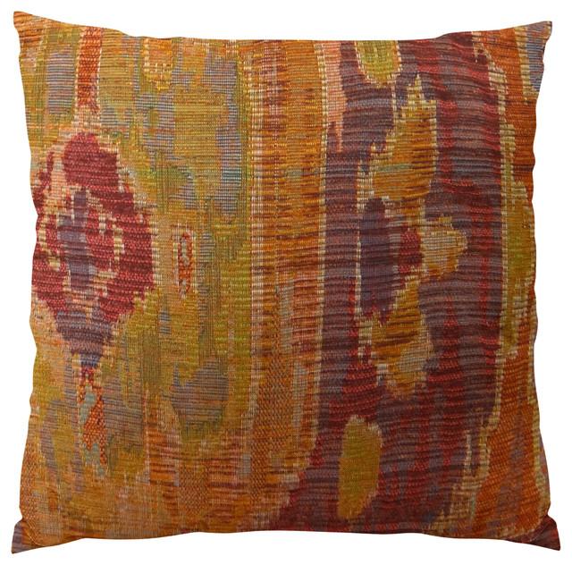 Plutus Bear Canyon Handmade Throw Pillow, Single Sided, 24x24.