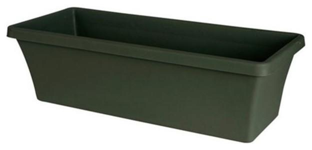 Fiskars 20-52418 18 in. Thyme Green Terrabox