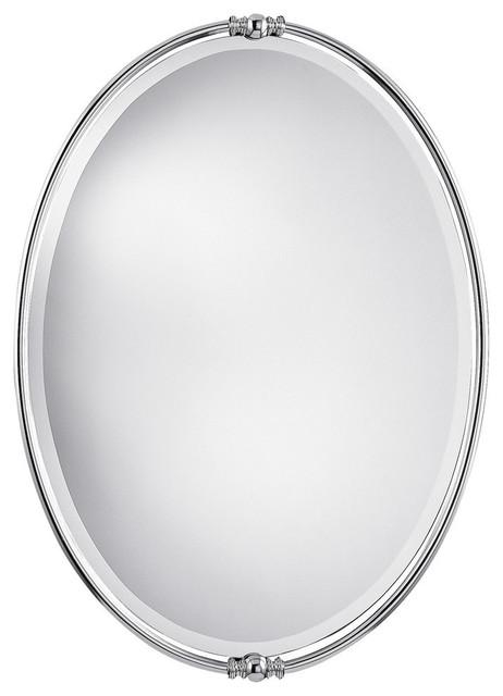 Mirror, Polished Nickel.