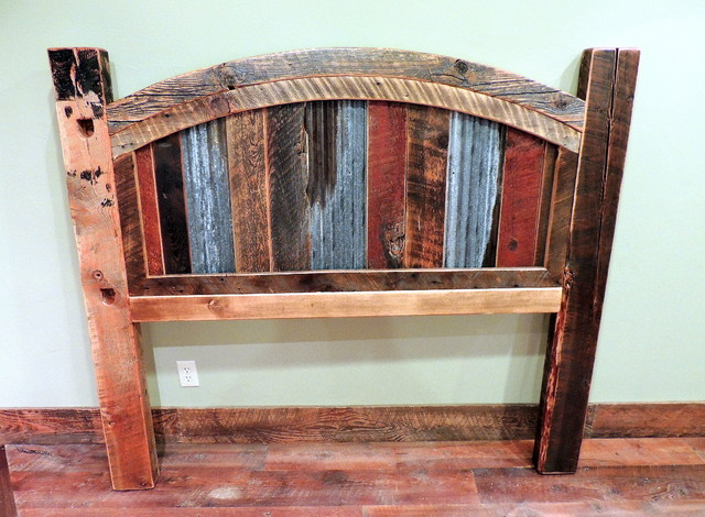 Rustic Headboards barnwood beds - rustic - headboards - other -four corner furniture