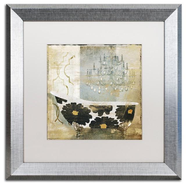Color Bakery \'Paris Bath I\' Matted Framed Art - Contemporary ...