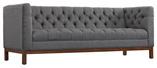Genial Panache Upholstered Fabric Sofa   Transitional   Sofas   By Decor U0026 Fixtures