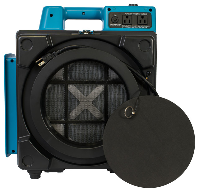 Xpower X-2480a 3-Stage Hepa Purifier Filtration Mini Air Scrubber.