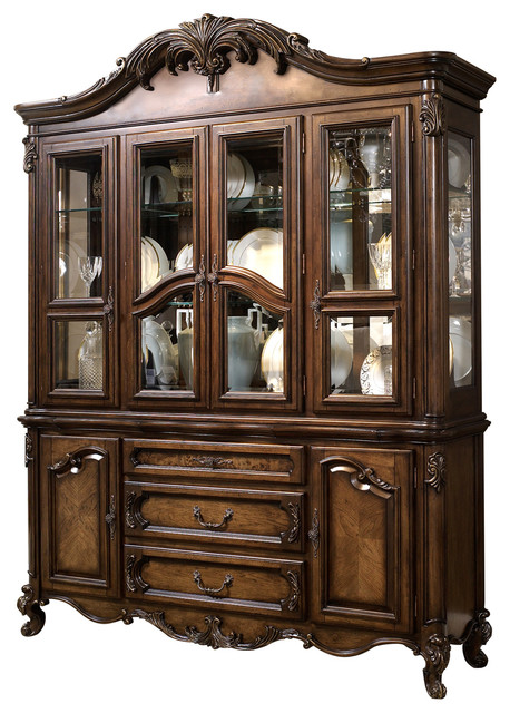 Charleston Buffet And Hutch Victorian China Cabinets