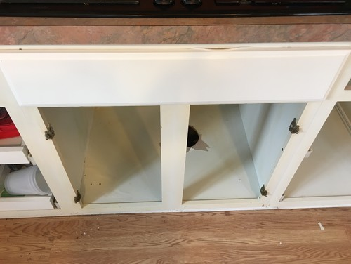 Kitchen Thermofoil Cabinet Repair