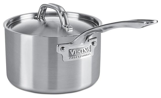Viking Professional 5 Ply Stainless Steel Sauce Pan 1 Quart