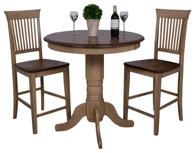 36 Round Wood Pub Table Round Table Ideas