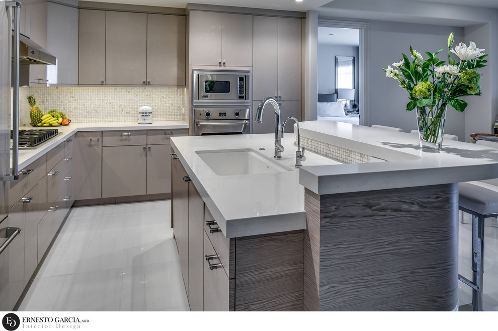 Contemporary Waterfront Living - 2020 FIRST PLACE  * ASID AWARD - RESIDENTIAL CA