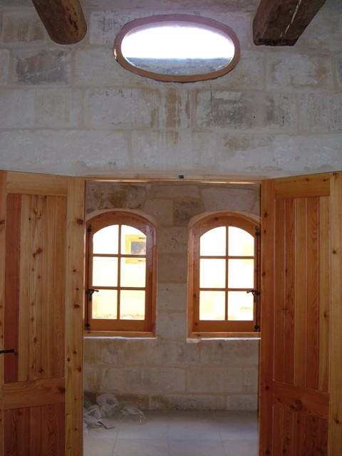 Conversion Of A 300yr Old House Character In Traditional Maltese Village
