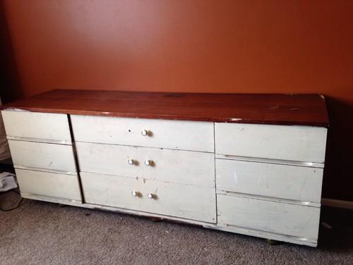 Pumpkin Color Paint paint color for this dresser!