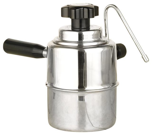 Stainless Steel Stove Top Cappuccino Steamer - Modern - Milk Frothers - by la pavoni
