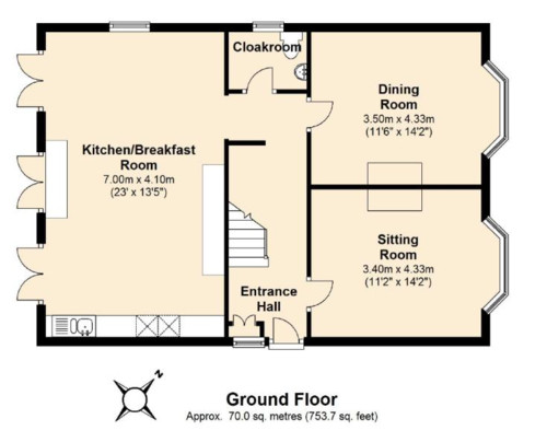 Floor plan ideas post extension for Room extension plans