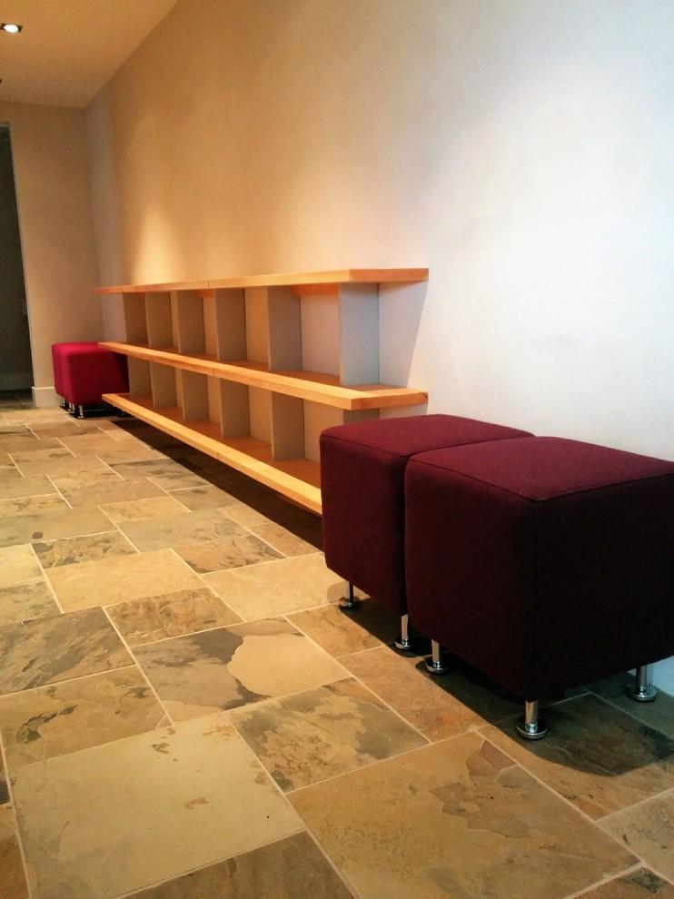 Custom made Douglas Fir Floating Shelves