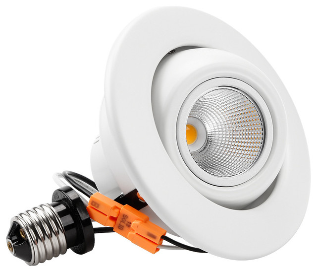 4 led gimbal recessed downlight 10w dimmable ceiling down light