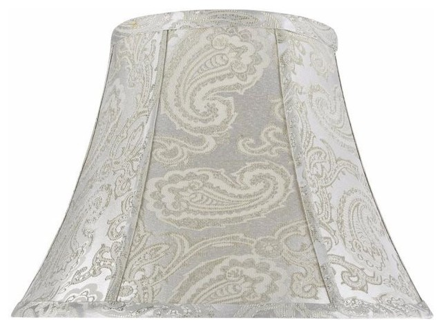30095 Bell Shape Spider Lamp Shade Clic Silver 13 Wide 7