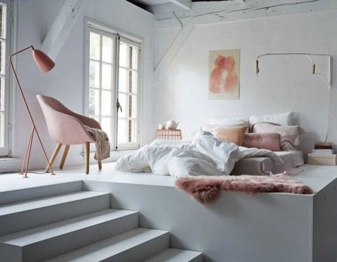 Color 2016: 45 Rose Quartz Home Decor Ideas