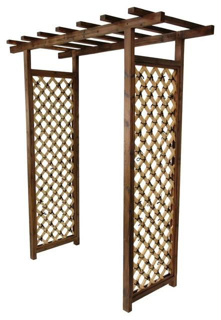 Japanese Bamboo Garden Gate Trellis.