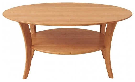 Manchester Wood American Made Furniture Oval Cherry