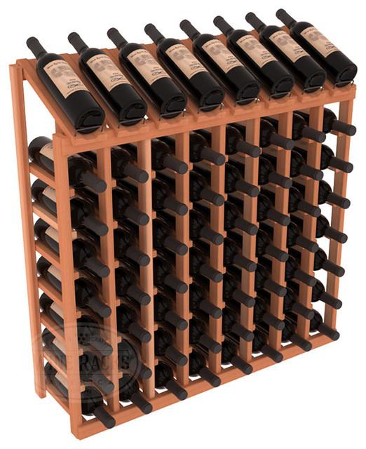 Wine racks america 64 bottle display top wine rack Americas best storage