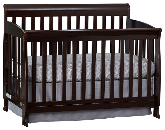 Suite Bebe Riley 3 In 1 Crib Espresso Traditional