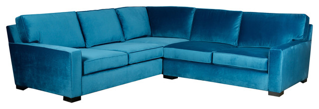 largo turquoise blue traditional shaped sectional sofa contemporary sofas velvet for sale microfiber the brick
