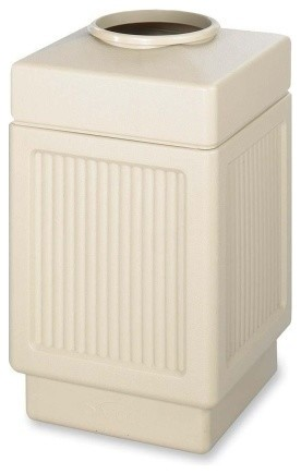 Shop Houzz Safco Products Canmeleon Top Open Receptacle