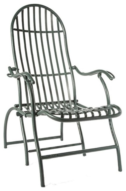 Lispi & Co Lispi & Co Violet Wrought Iron Chair Outdoor Lounge Ch