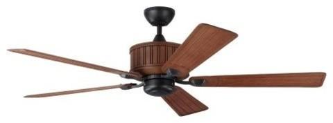 Monte Carlo Tillbury Fan Tillbury Indoor Ceiling Fan, Weathered Zinc.