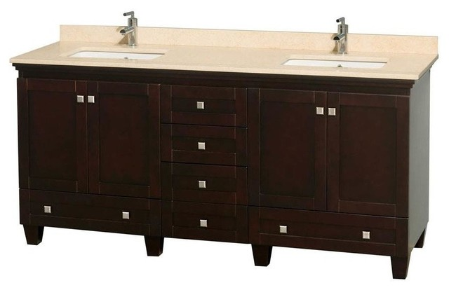 Perfect Virtu USA 36quot Square Sink Bathroom Vanity Caroline VUMS2136LWMSQWH