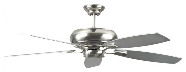 "52"" Roosevelt Fan By Concord Fans, Stainless Steel."