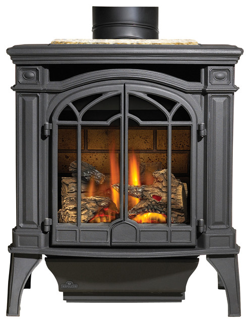 Napoleon Bayfield Gas Stove View In Your Room Houzz