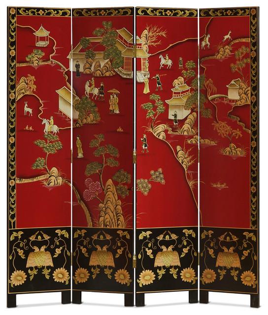 Asian floor screens