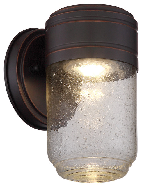 Lite Source LS-16716 Raimi 1 Light LED Outdoor Wall Sconce - Transitional - Outdoor Wall Lights ...