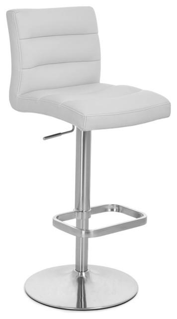 Amazing Lush Adjustable Height Swivel Armless Bar Stool Gray Theyellowbook Wood Chair Design Ideas Theyellowbookinfo