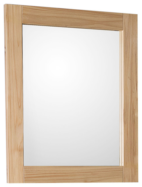 Wallace Solid Fir Framed Rectangular Mirror.