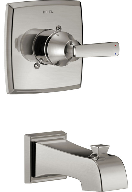 Delta Ashlyn Stainless Steel Finish Wall Mounted Tub Only