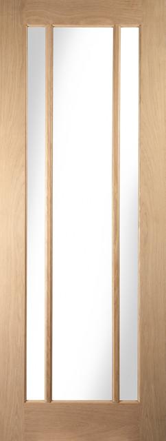 Worcester 3-Panel Interior Door, 84x199 cm