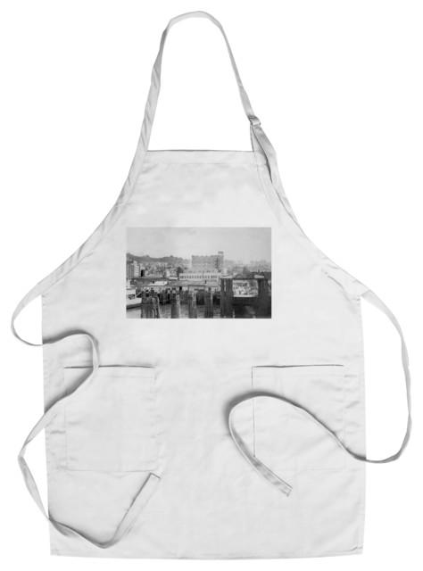 Chef's Apron, Astoria, Oregon Scene With Ferry Slip Photograph