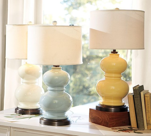 Pottery Barn Alexis Lamp: Alexis Ceramic Table Lamp Base