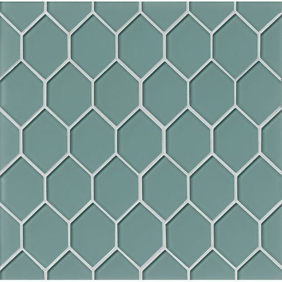 Lucid Sky Interlocking 4Mm Elite Pattern Glass Metal