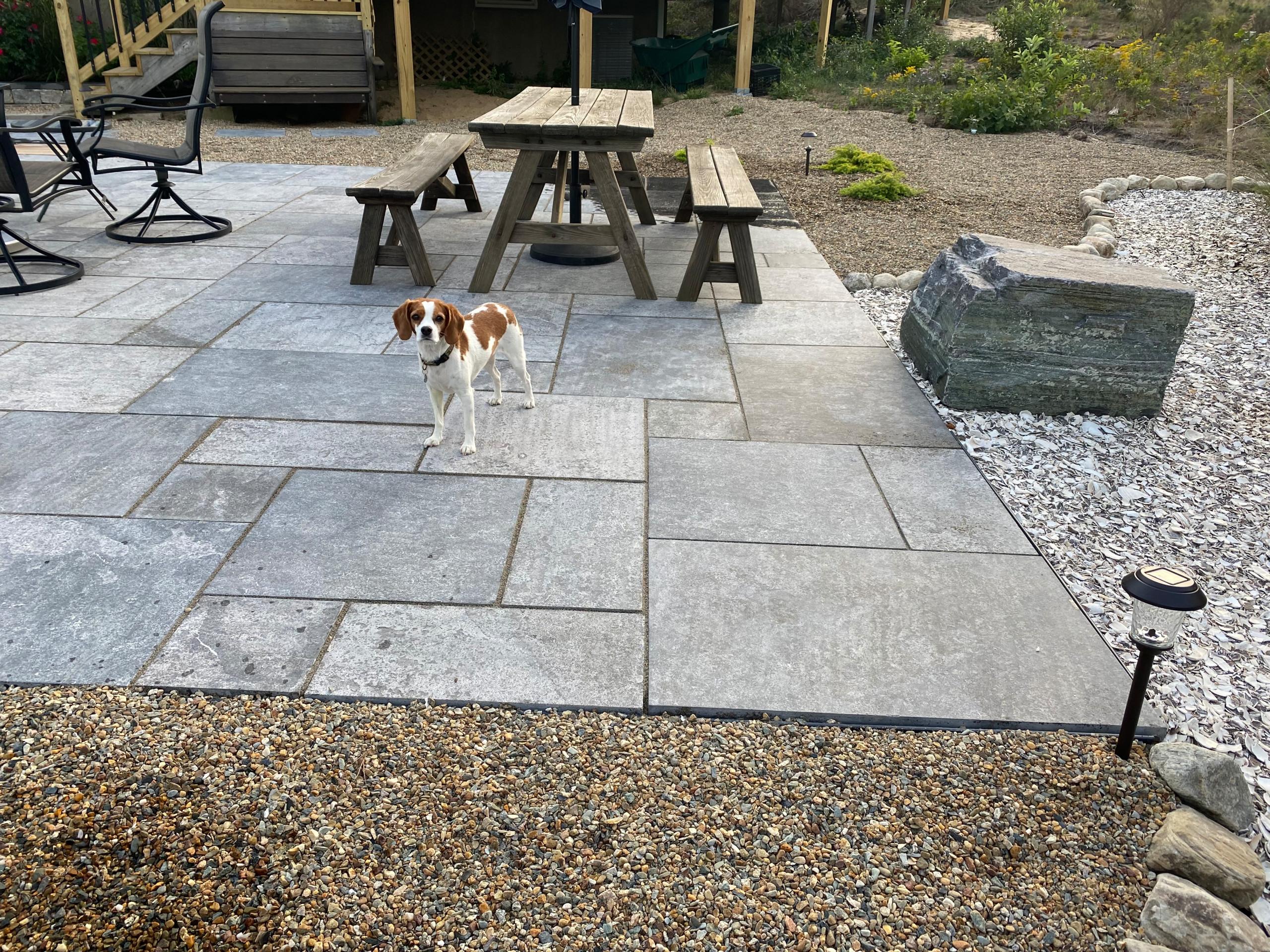 Truro stone patio