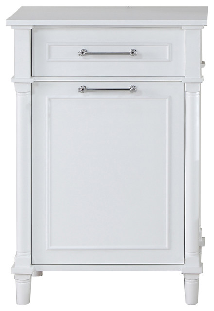 LUXE by Deluxe Vanity - Continental Collection Hamper Cabinet - View in Your Room! | Houzz