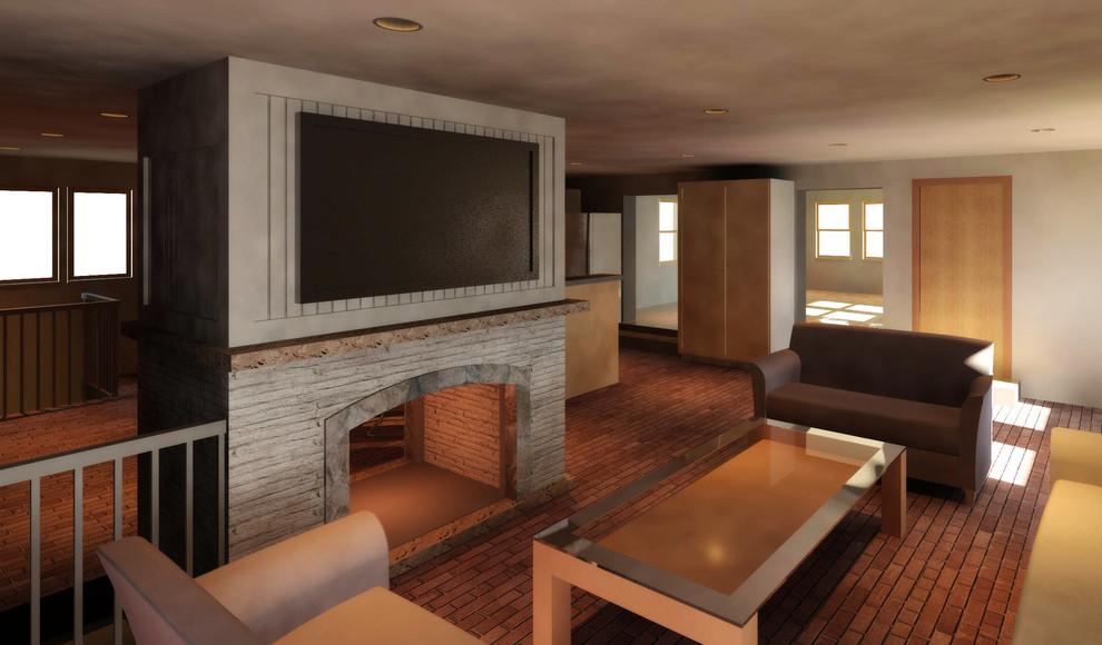 Interior_3D Revit Model