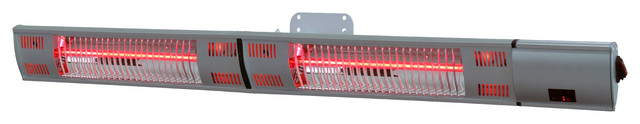Energ+ Infrared Electric Outdoor Heater, Wall Mounted, With Gold Tube.