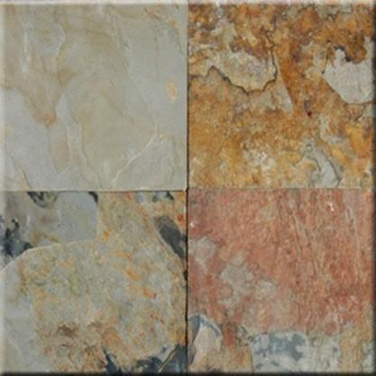 Autumn Cleft Finish Slate Floor Wall Tiles 12 X