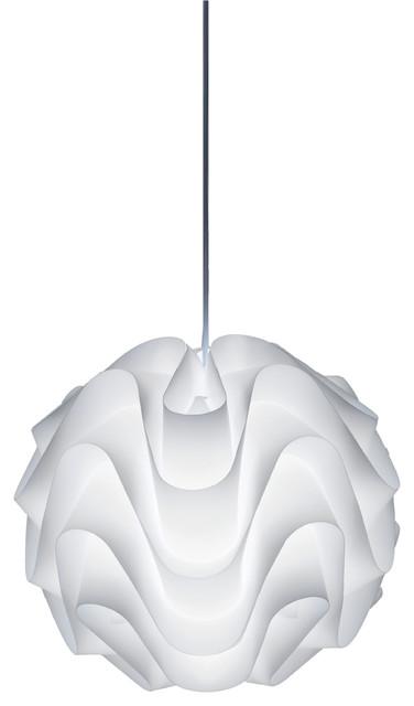 Meringue Pendant Light Small contemporary-pendant-lighting  sc 1 st  Houzz & Meringue Pendant Light Small - Contemporary - Pendant Lighting ... azcodes.com