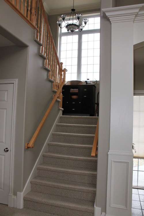 Nice Advice Needed On Wood Or Carpet For Staircase Landing