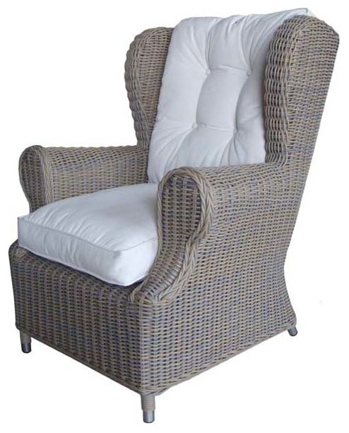 Padmas Plantation Outdoor Kubu Wing Chair