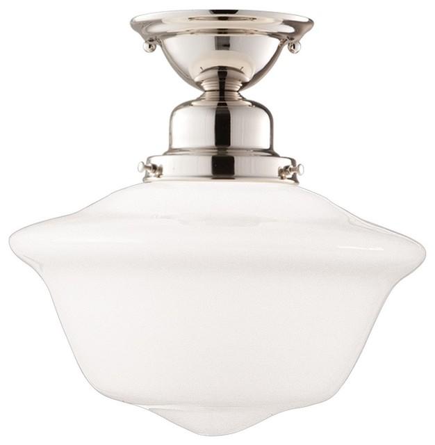 hudson valley lighting edison contemporary semi flush